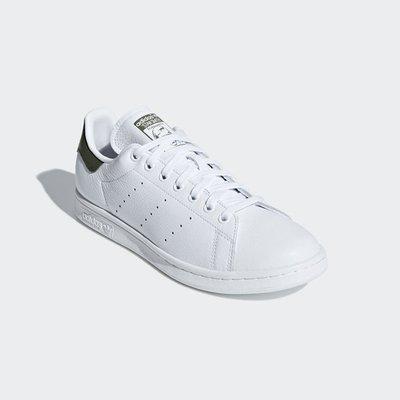 # ADIDAS ORIGINALS STAN SMITH 白綠色 史密斯 休閒 慢跑鞋 男鞋 B41477 YTS