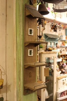 zakka糖果臘腸鄉村雜貨坊    雜貨類..日本azi-azi壁架.擺飾架.層板架.展示架.擺飾架.開店用品/攝影道具