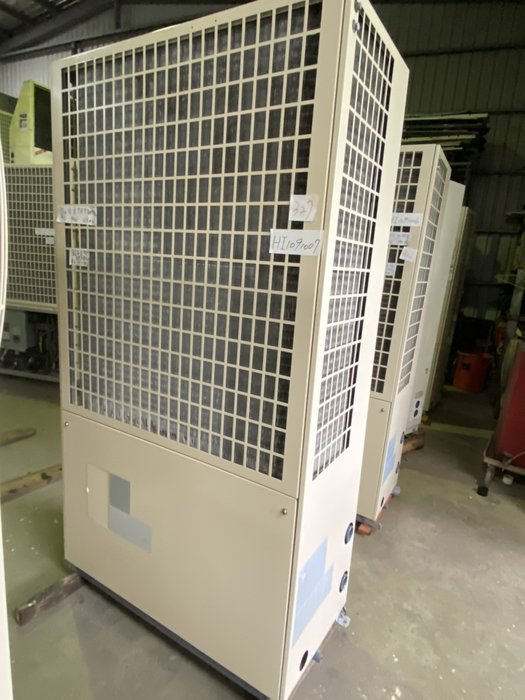 (大台北)中古日立7.5RT氣冷冰水機3φ380V(編號:HI1091007)~冷氣空調拆除回收買賣出租~