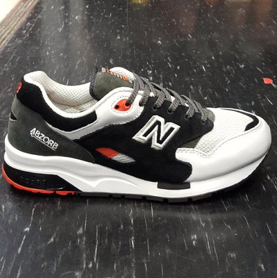 new balance 1600 CM1600RA 黑色 灰色 白色 慢跑鞋 復古 麂皮 網布 台北市