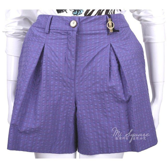 米蘭廣場 CLASS roberto cavalli 紫色條紋短褲 1520584-04