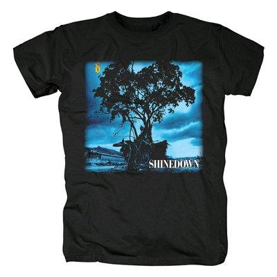 Shinedown硬搖滾樂隊 另類金屬 硬搖滾 南方搖滾 重金屬音樂t恤