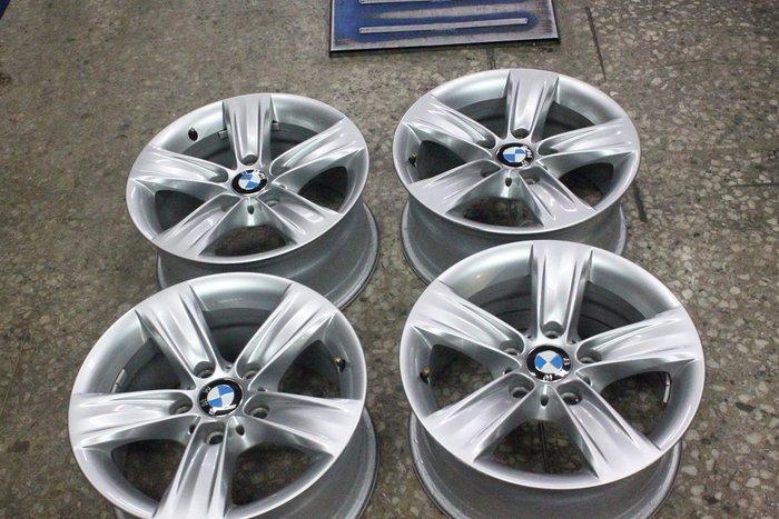 中古圏 F30 原廠 BMW 16吋 亮銀 鋁圏    F01 F02 F10 F11 F30 E60 E90 E92
