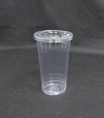 100組 360cc【YM360+蓋】PP杯 塑膠杯 冰淇淋杯 冷熱共用杯 飲料杯 YM杯 Y杯 平面杯 透明杯