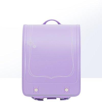 (書包系列)seiban天使之翼MR系列減負防駝耐用刺繡女小學生書包紫色日本正品