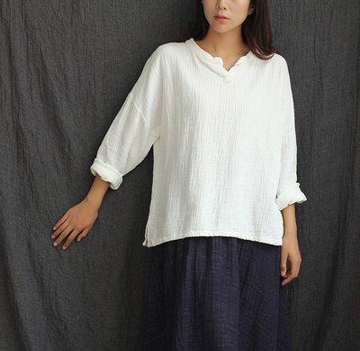 【Mi Ni】日系森女文藝範 寬鬆 大...
