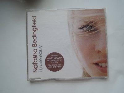 絕版進口單曲CD Natasha Bedingfield 娜塔莎·貝汀菲兒  I Bruise Easily