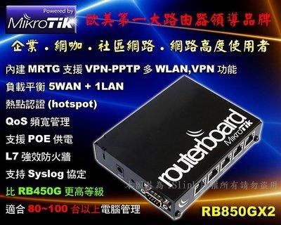 Cisco19xx同級Mikrotik RB850Gx2路由器 雙核CPU RB450G昇級版 RouterOS VPN