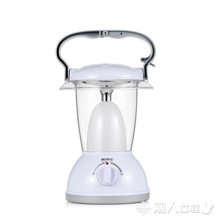 戶外燈led露營燈可充電強光超亮戶外手提投光照明應急燈家用