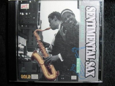 SENTIMENTAL SAX - by Kenny Gamble - 1994年雙CD版 -201元起標   樂器 R70
