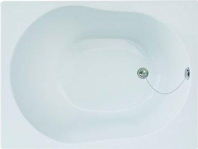 秋雲雅居~KA107壓克力浴缸100x75x57cm(特價促銷品~時間&數量有限)