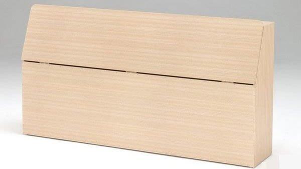 桃園國際二手貨中心 --- 房東好幫手 --- 標準雙人床頭箱 共兩色可選(白橡色+胡桃色)