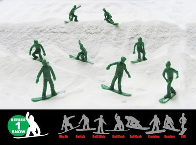 { POISON } ORIGINAL AJ'S TOY BOARDERS SNOW雪板 玩具小兵 美國進口懷舊玩具 屏東縣