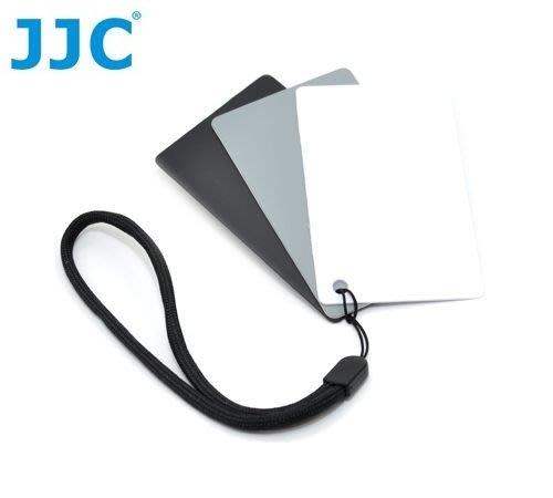 又敗家3片裝JJC名片3合1灰卡+白平衡卡+黑卡,可測光校正WB降反差gray色溫卡card三合一18灰卡白卡白平衡片十八灰卡18%灰卡KODAK柯達xrite