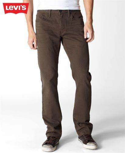 【 超搶手 】美國 FIXED GEAR 最愛 Levis Slim Jeans 514-0295 小直筒 燈蕊絨牛仔工作褲 咖啡色 W29-34