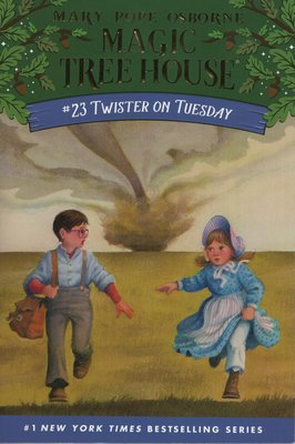 Blue書屋|新書/神奇樹屋原文小說:Twister on Tuesday/Random House