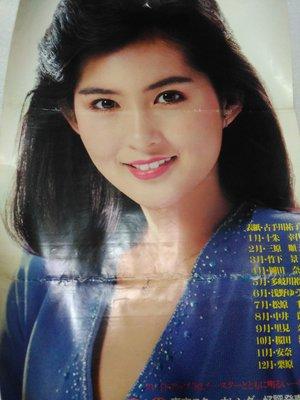 日本女明星古手川祐子大張海報