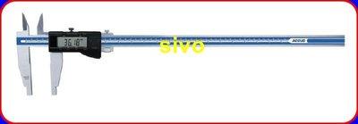 """☆SIVO電子商城☆電子卡尺 游標卡尺ACCUD 119-024-11 24""""/ 600mm/0.01mm"""