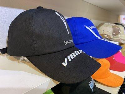 【inSAne】Vibrate LOGO CAP 刺繡 老帽 可調式 黑色 & 寶藍