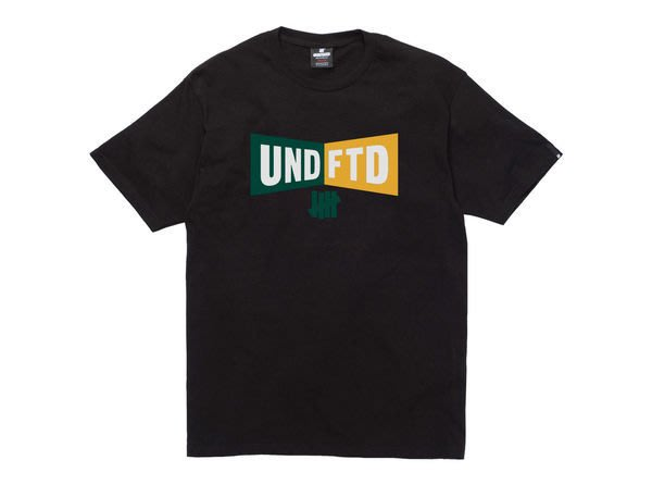 ☆AirRoom☆【現貨】 2014 S/S UNDEFEATED BOW TEE 短TEE 柵欄 Logo 黑 灰
