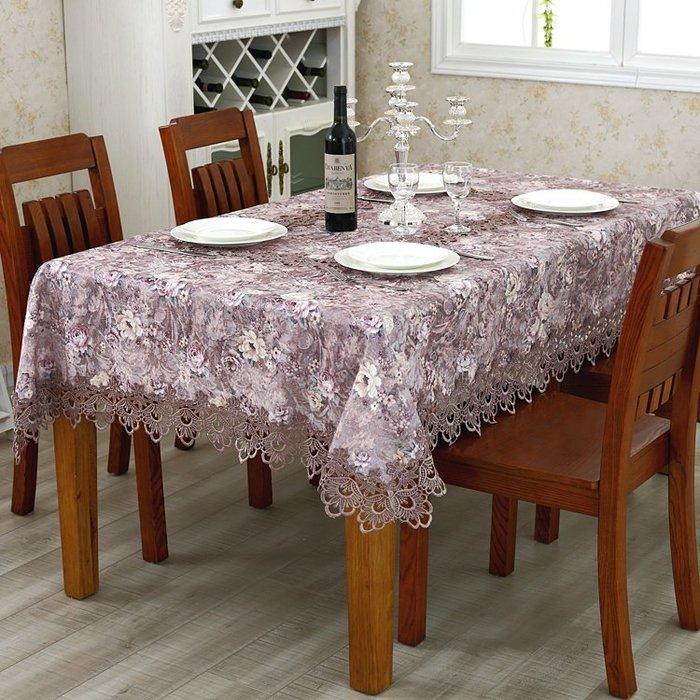 創意 居家 裝飾繡花桌布歐式布藝圓形臺布茶幾布餐桌布椅套椅墊套裝田園椅子套