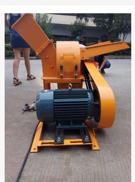 420型新款雙進料斗木材粉碎機,粉碎樹枝樹葉木頭竹子,產量高
