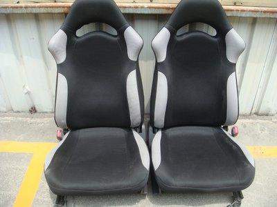 SUBARU IMPREZA 速霸陸 硬皮鯊 GDA WRC STI 前座椅~1組