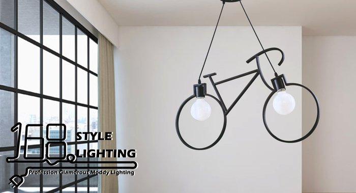 【168 Lighting】腳踏車造型《時尚吊燈》GI 71270-4