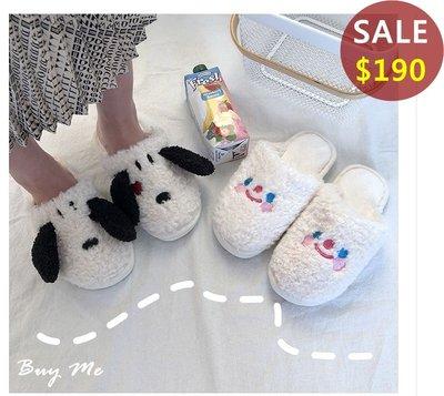 Buy Me 秋冬新款保暖必備可愛造型卡通史努比室內拖鞋 (兩款)