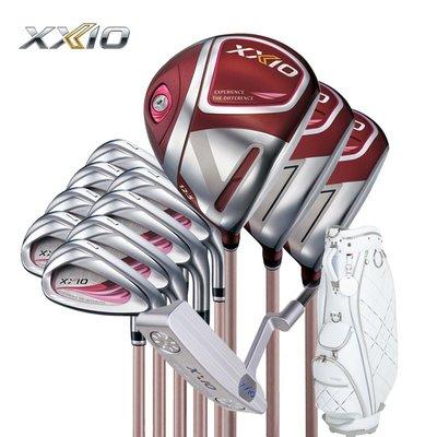 高爾夫XXIO/高爾夫球桿XX10 MP1100女士套桿 波爾多紅遠距GOLF全套桿運動