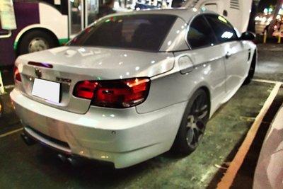 DJD19042308 BMW E90 E91 E92 E93 後保桿 改M3樣式套件 PP 323 320