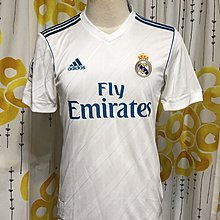 皇家馬德里 Real Madrid 17-18 Home size S BNWT