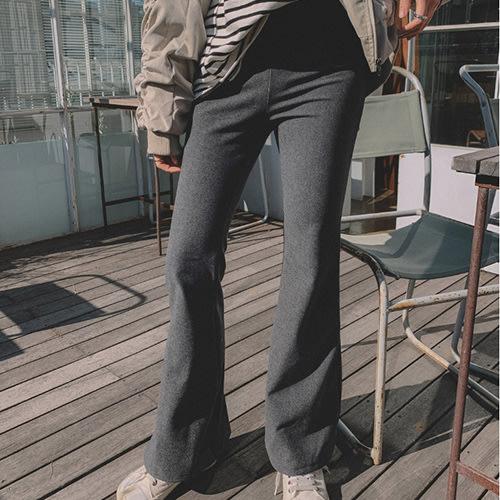 i-Mini 正韓|實搭鬆緊腰圍大喇叭褲|2色‧ 韓國連線‧代購‧空運【B10205263du】
