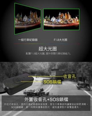 (送16G卡)【皓翔安全館】全視線 R638 前後HD 高畫質 雙鏡頭機車 行車記錄器