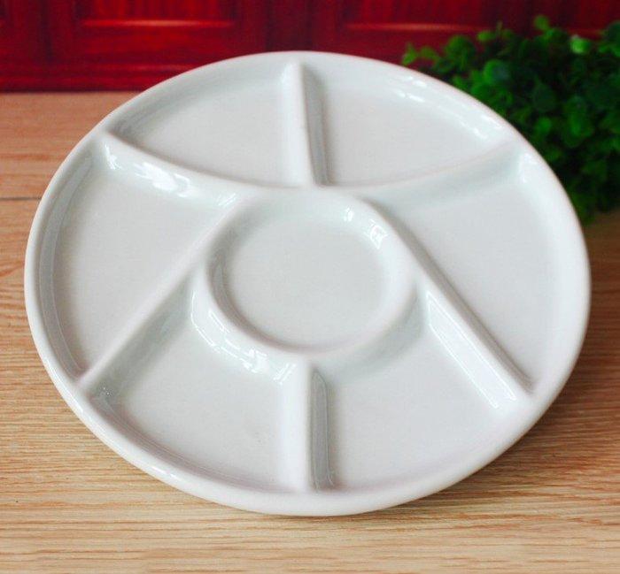 宇陞精品-陶瓷圓形調色盤/碟-9吋(22.5公分)-缺貨