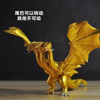 珍妮衣櫥 哥斯拉2怪獸之王電影基多拉紅蓮千禧可動關節玩具模型手辦收藏