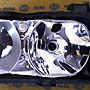 台中bbcar BMW E39 左右大燈底座含內反射板 美規 德國HELLA 2000年8月前出廠專用