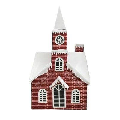 1.2米聖誕裝飾品創意聖誕仿真紅磚房子櫥窗裝飾1.5米聖誕樹擺件