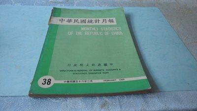 藍色小館7--------58年.中華民國統計月報