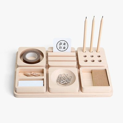 pana objects Tofu : Stationary set 豆腐積木L-文具收納盤