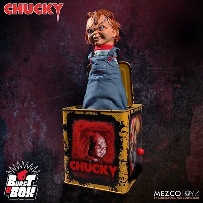Artlife @ MEZCO Burst-A Box Scarred Chucky 洽奇 恰吉 恐怖 彈跳箱