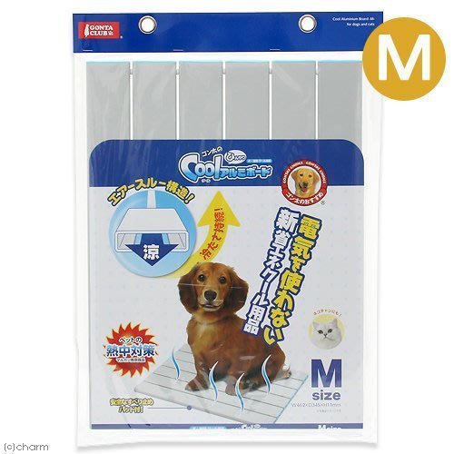 【新款】日本Marukan塌塌米鋁製寵物用涼墊M號DP-803(原DP-446)日本新款最佳的冰涼感