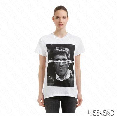 【WEEKEND】 TABOO Tony 印圖 短袖 T恤 上衣 白色 男女同款