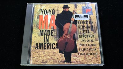 【198樂坊】YO YO MA-MADE IN AMERICA(馬友友/大提琴........美版)EA