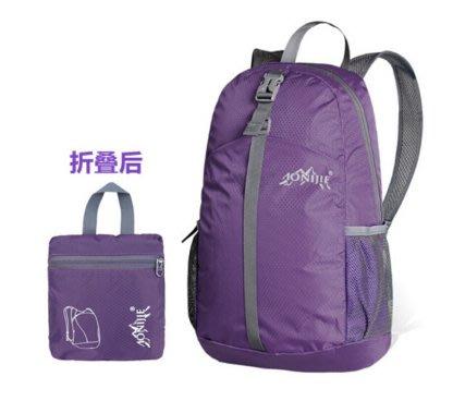 戶外可折疊輕便旅行包便攜雙肩包男女旅遊皮膚背包防水運動登山包後背包雙肩包