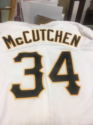 MLB 2011 Pittsburgh Pirates #34 McCutchen Game Used Jersey