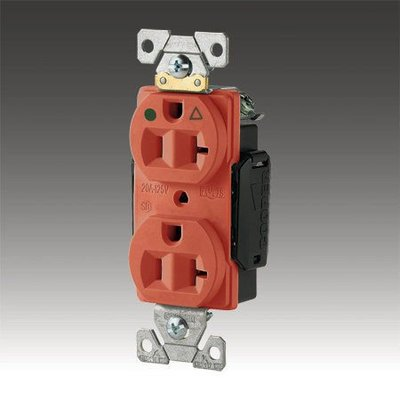 美國 COOPER IG8300RN 醫療級插座壁插系列