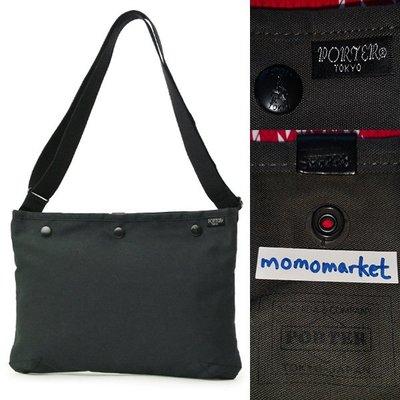 momo日本製PORTER TOKYO JAPAN牛皮防水灰色斜咩袋10.5 inch ipad pro shoulder bag側背包Note 10.1