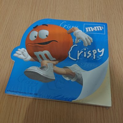 包郵! m & m notebook note pad memo pad 便條紙 筆記簿, 當時為非賣品,100% new ,全新未開過 m&m