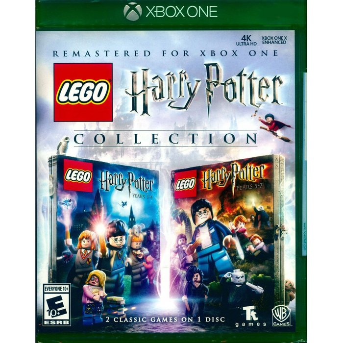 (全新現貨) XBOX ONE 樂高哈利波特 合輯收藏版 英文美版LEGO Harry Potter Collectio